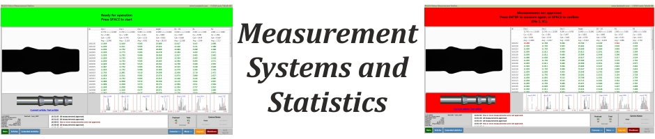 Measurement Systems and Statistics