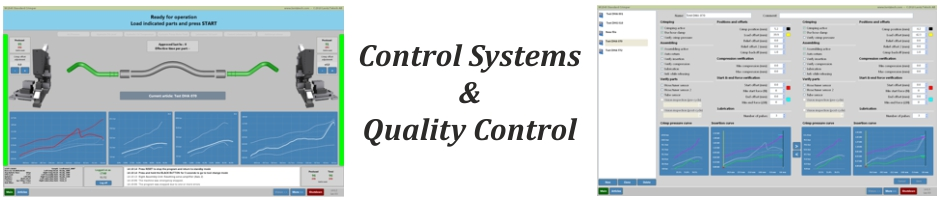 Control Systems, Quality Control